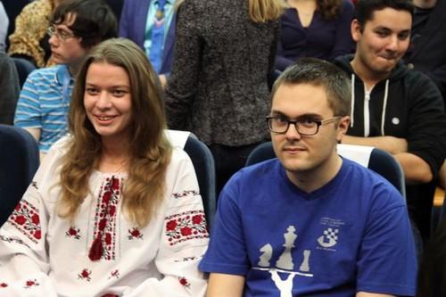 Михаил Антипов и Наталья Букса