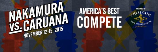 Два матча: Накамура - Каруана и Хоу Ифань - Неги, Сент-Луис 2015