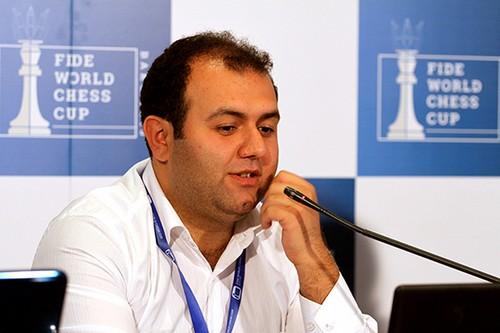 Рауф Мамедов - чемпион Европы по блицу 2015