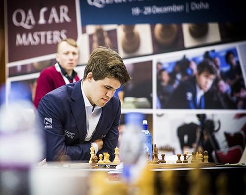 Магнус Карлсен - победитель Qatar Masters Open