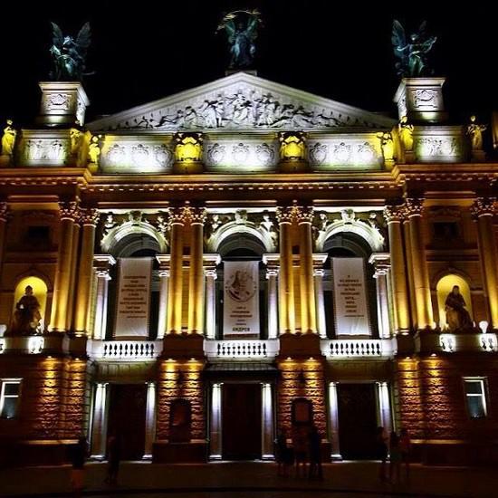 Театр оперы и балета, Львов