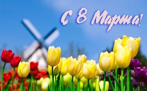 Поздравление с 8 марта от шахматистов