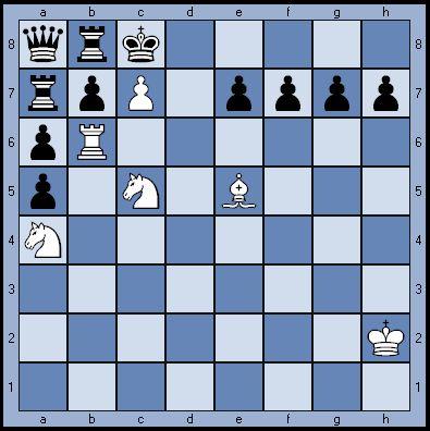 Белые дают мат черным в 3 хода