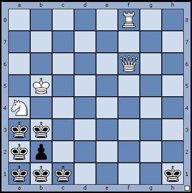 Задача с 7 черными королями