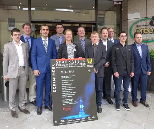 Sparkassen Chess Meeting 2016, Дортмунд, онлайн