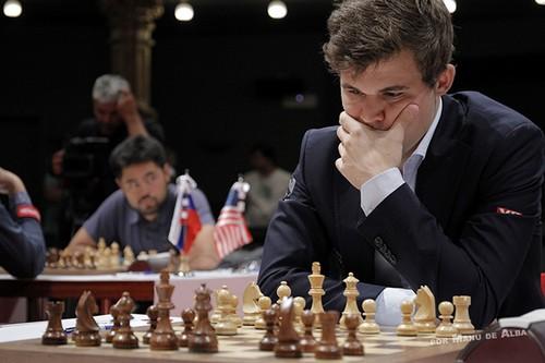 Магнус Карлсен - победитель