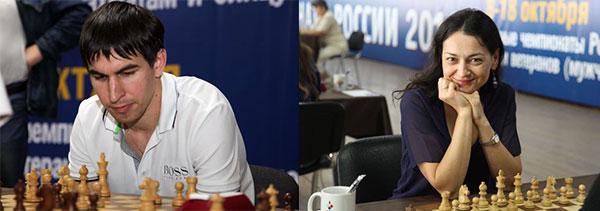 Александра Костенюк и Дмитрий Андрейкин чемпионы России по рапиду 2016