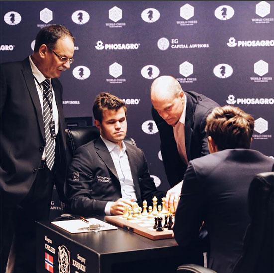 Матч за звание чемпиона мира 2016 онлайн, Карякин - Карлсен, Нью-Йорк