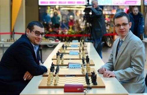 Давид Навара и Сергей Мовсесян установили новый шахматный рекорд