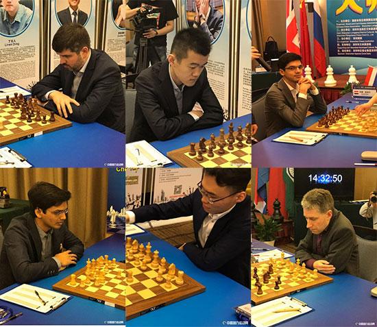 Участники турнира в Шэньчжэне 2017