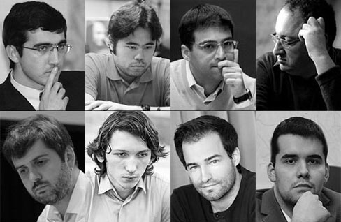 Участники Zurich Chess Challenge 2017
