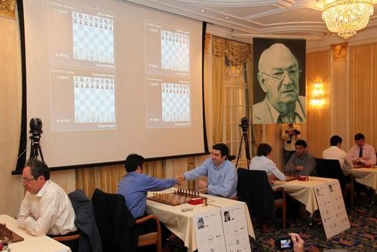 Zurich Chess Challenge 2017, церемония открытия