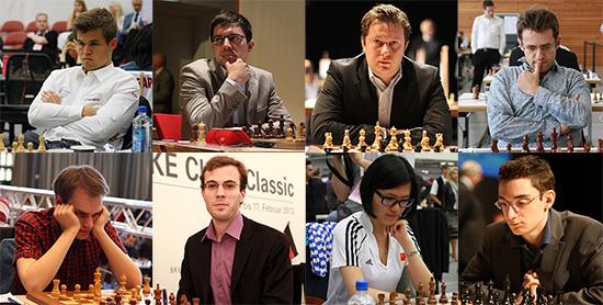 Участники GRENKE Chess Classic 2017