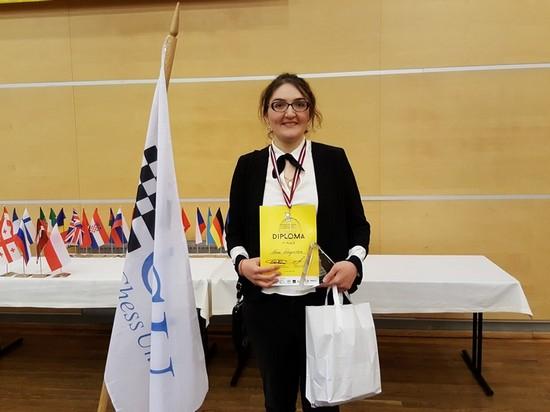 Нана Дзагнидзе - чемпионка Европы 2017