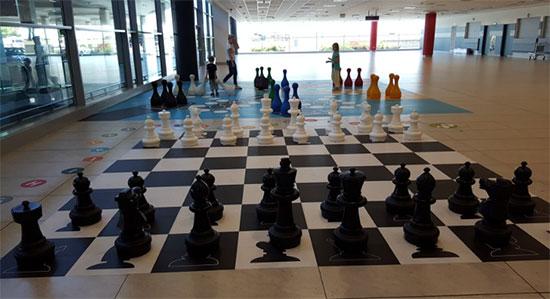 В Праге, шахматы