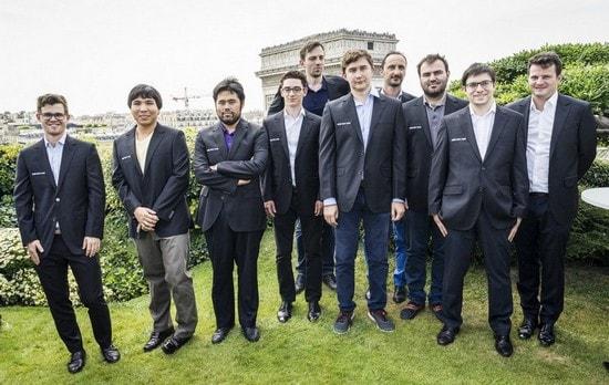 Участники Grand Chess Tour 2017