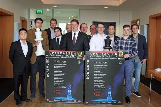 Sparkassen Chess Meeting 2017, Дортмунд, онлайн