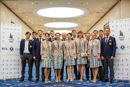 Женская и мужская сборные России по шахматам