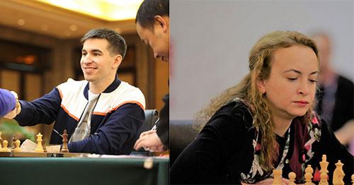 Дмитрий Андрейкин и Антуанета Стефанова