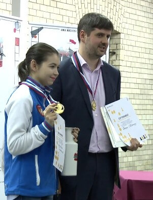 Петр Свидлер и Александра Горячкина
