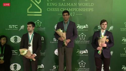 Виши Ананд - чемпион мира по рапиду 2017