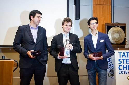Карлсен, Крамник и Гири
