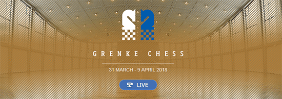 GRENKE Chess Classic в Баден-Бадене 2018, онлайн