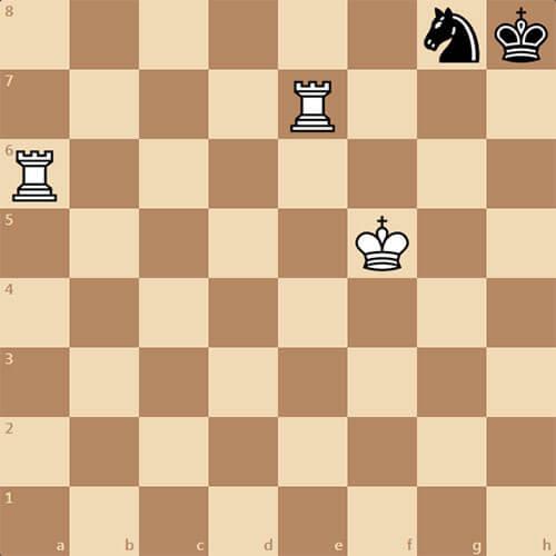 Немецкая задача, поставить мат в 3 хода