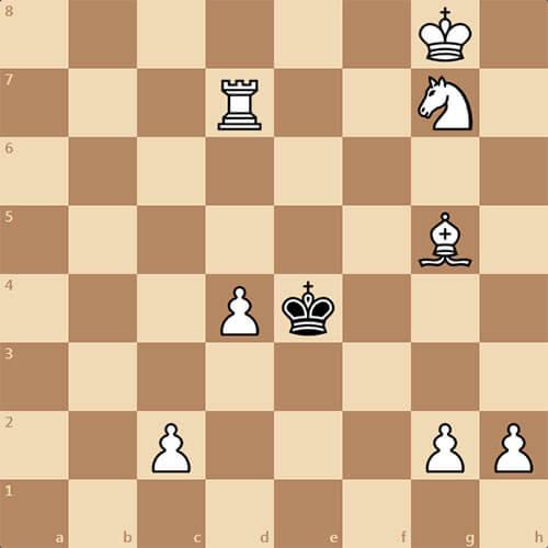 Задача, которой более 100 лет, мат в 3 хода