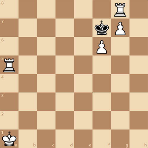 Задача для любителей, мат в 3 хода
