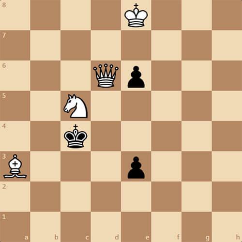 Задача по шахматам для новичков. Мат в 1 ход