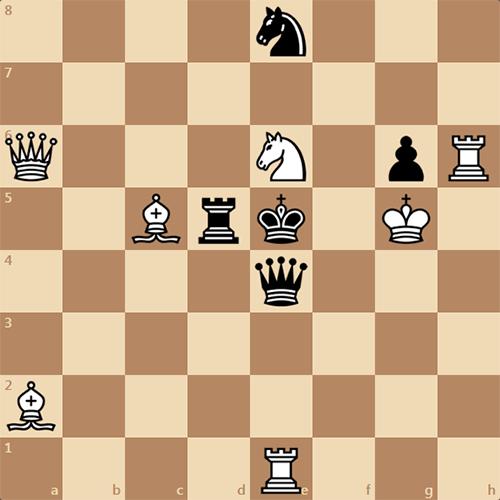 Супер интересная задача по шахматам! Мат в 2 хода