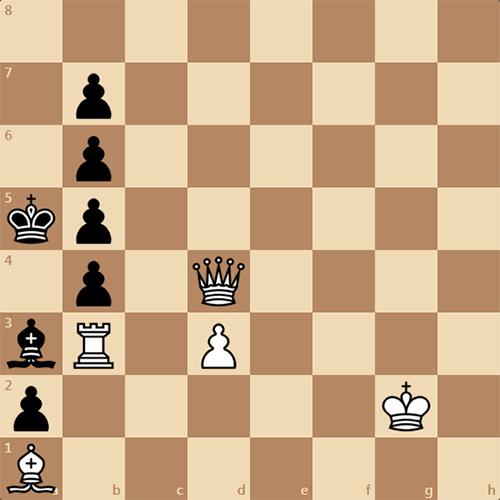 Решите задачу, белые ставят мат в 3 хода