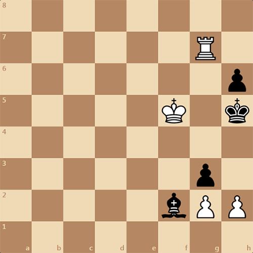 Известная шахматная задача, мат в 4 хода