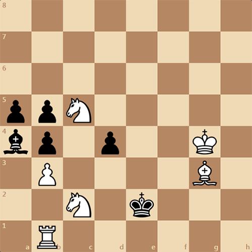 Сложная задача, белые ставят мат в 3 хода