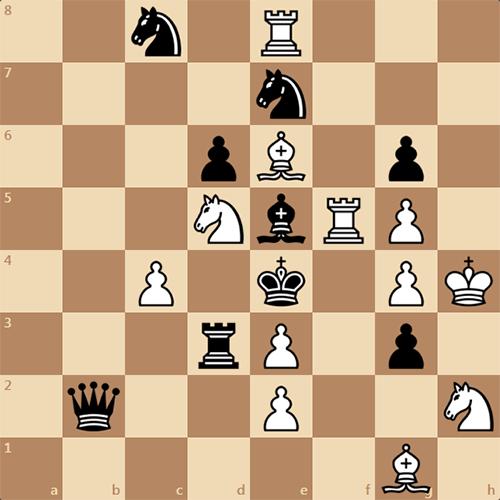 Задача: найдите мат в 3 хода