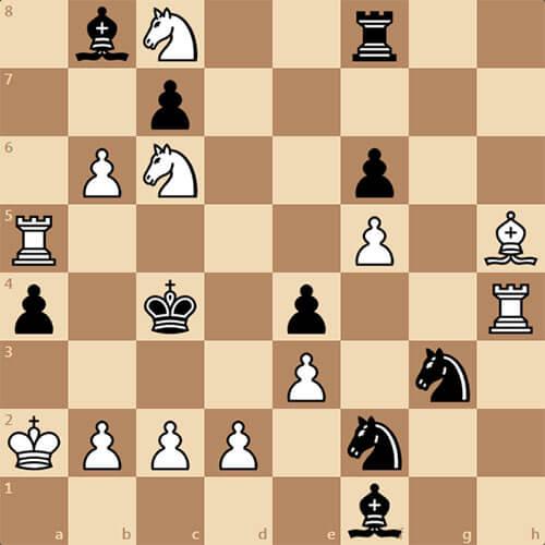 Мат в 3 хода, задача по шахматам