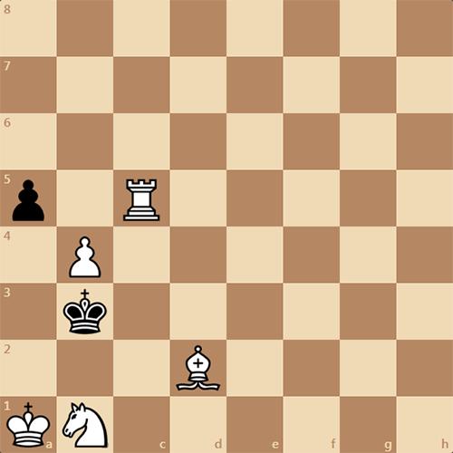Мат в 4 хода, задача по шахматам
