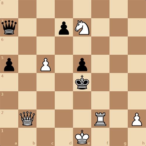 Найдите мат в 3 хода, задача по шахматам