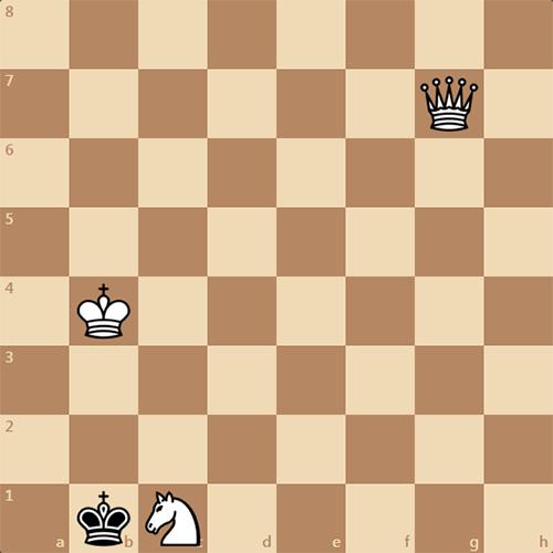 Очень интересный мат в 2 хода