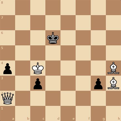 Найдите мат в 3 хода, белые начинают