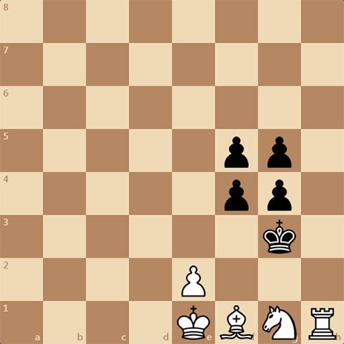 Интересная позиция, мат в 3 хода
