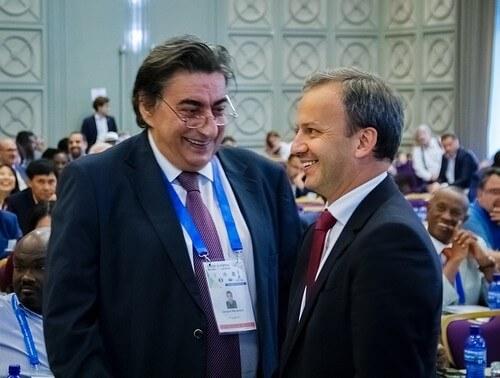 Дворкович и Макропулос