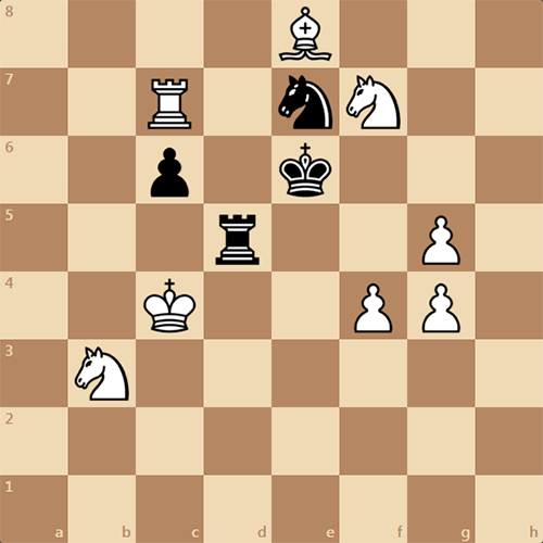 Шахматная задача. Мат в 2 хода