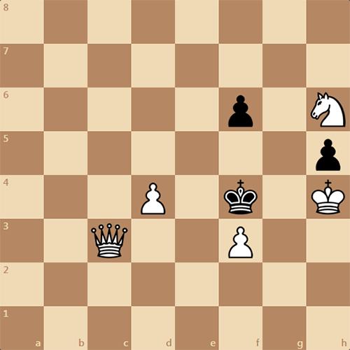 Шахматная задача. Мат в 3 хода