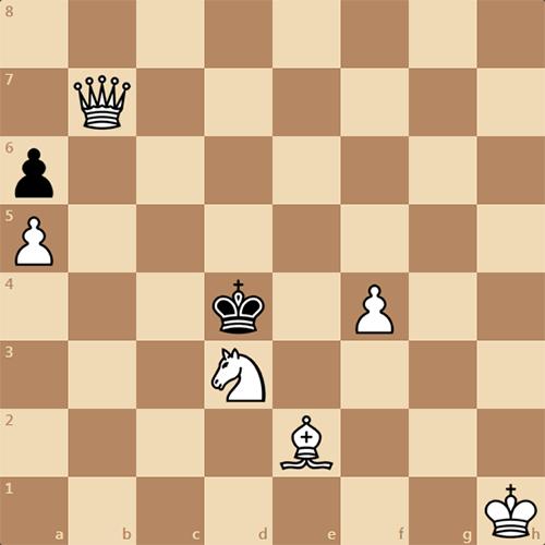 Воскресная трехходовка для любителей шахмат