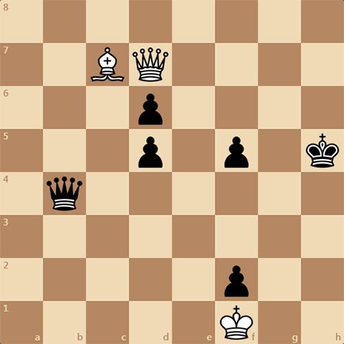 Красивый выигрыш. Задача по шахматам