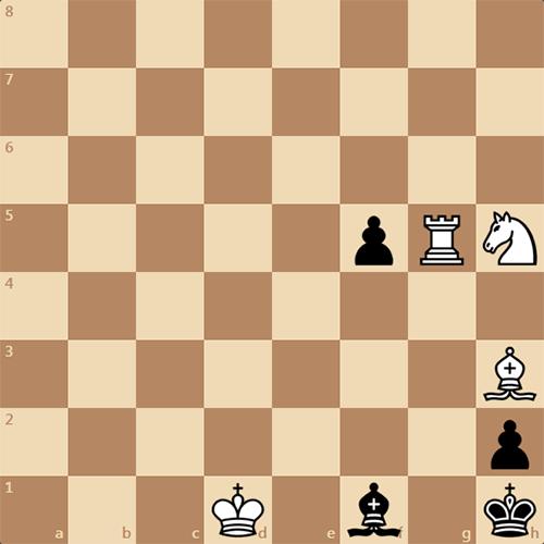 Мат в 3 хода. Играем за белых.