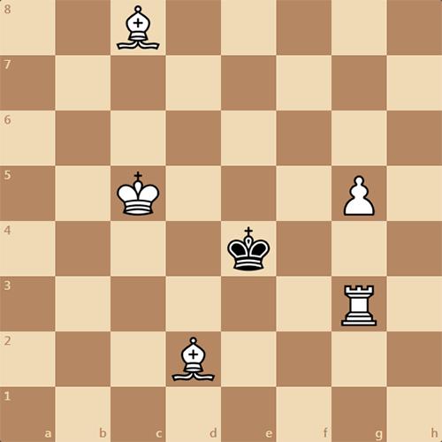 Решите мат в 2 хода, шахматная задача