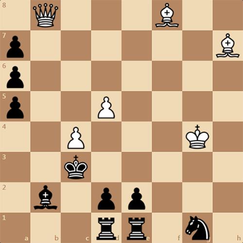 Решите задачу по шахматам, мат в 3 хода
